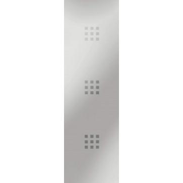 Sandstrahlverglasung 3 x 9 negativ