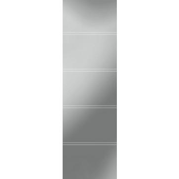 Sandstrahlverglasung Double Liner