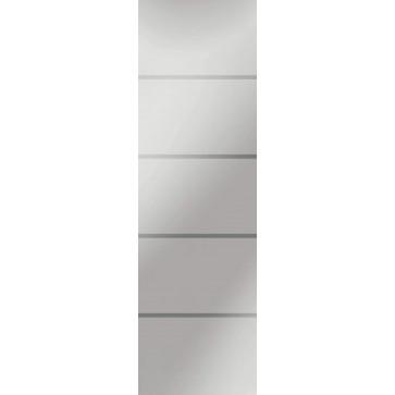 Sandstrahlverglasung Fourliner negativ