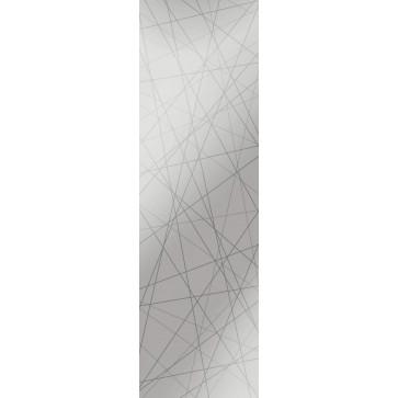 Sandstrahlverglasung Straight negativ