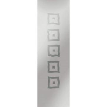 Sandstrahlverglasung Taro negativ