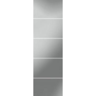 Sandstrahlverglasung Fourliner