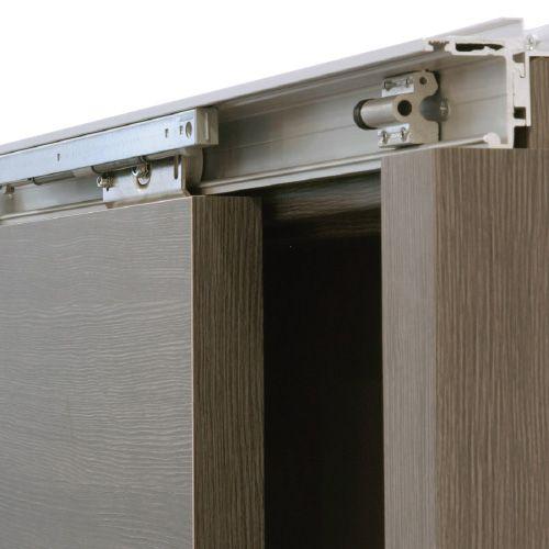 Dank Der Speziellen Konstruktion Lässt Sich Die Montage Komplett Von Vorn  Durchführen. Die Höhe Des Türblattes Kann Im Eingebauten Zustand Verstellt  Werden.